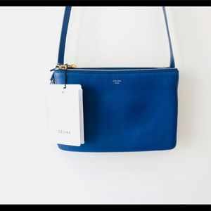 Celine Trio Small Blue Indigo Royal Blue